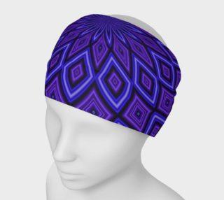 Purple Kaleidoscope Headband preview