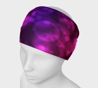 Purple Stars And Bubbles Headband preview