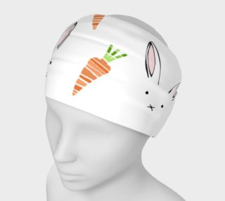 Easter Bunnies and Carrots Headband preview