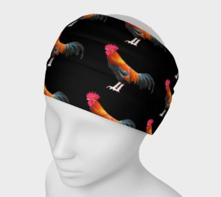 Nankin Rooster Headband preview