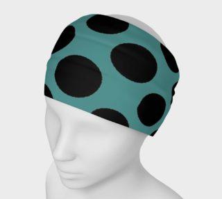 1950 Dom Cyan Headband preview