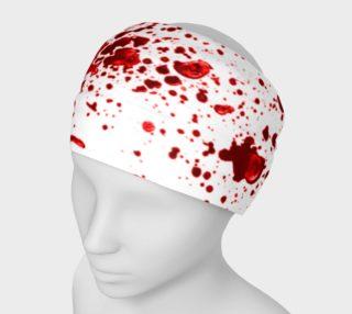 Blood Splatter First Cosplay Halloween Headband preview