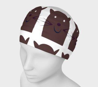 Kitten headband, brown KITTENS preview