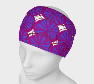 Designers headband, exotic Lemons Pink preview