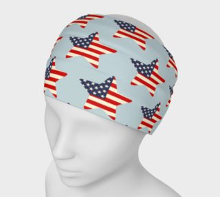 USA Flag Stars Patriotic Headband preview