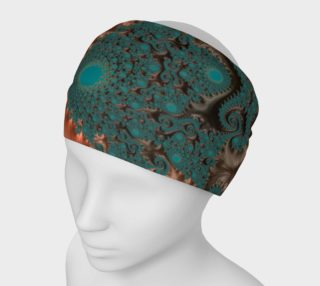Aperçu de Copper Leaves Headband