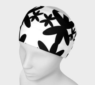 Headband lux. mandalas black--white preview
