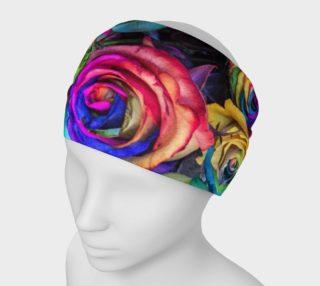 Rainbow Rose Headband preview