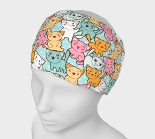 Kawaii Mood Kitties Headband preview