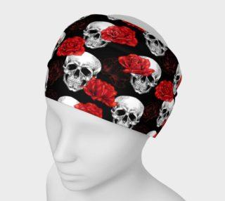 Aperçu de Skull & Rose Headband