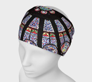 Rose South Window, Notre Dame Paris Headband preview
