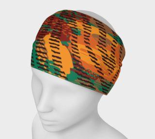 Abstract Animal Stripes Headband preview