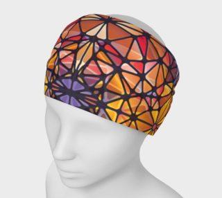 Amber Kaleidoscope Headband preview