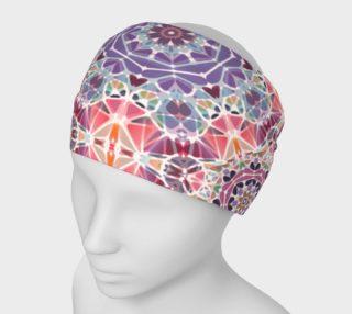 Purple and Pink Kaleidoscope Headband preview