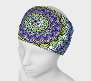 Aperçu de Purple n' Green Machine Headband
