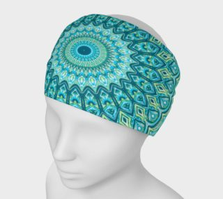 Tasty Turquoise Mandala Headband preview