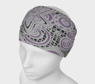 Just a Squiggle Here and There Purple Headband preview