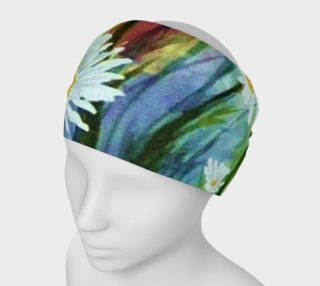 Colorful White Daisies Head Band preview