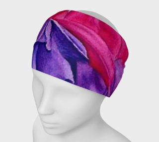 Fuchsia Flowers Head Band preview