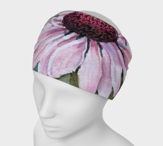 Pink Echinacea Head Band preview