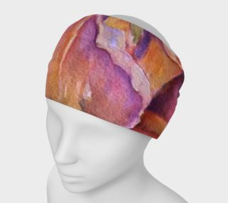 Pink Iris Petals Head Band preview