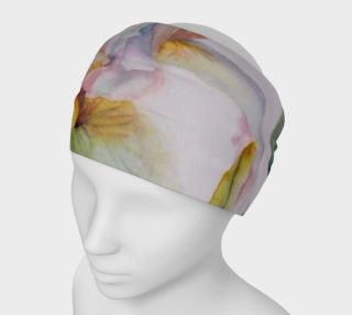 White Iris Petals HeadBand preview