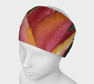 Orange Yellow Tulip Petals Headband preview