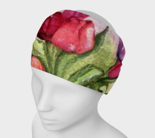 Colorful Tulip Bunch Headband preview