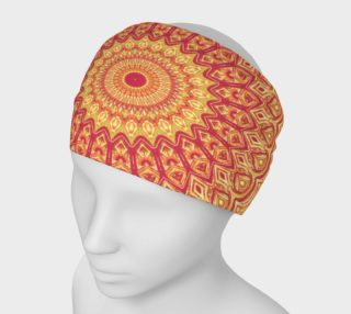 Mandarine Dreams Mandala Headband preview