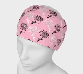 Pink Dandelion Pattern Headband preview