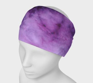 Purple Marble Headband preview