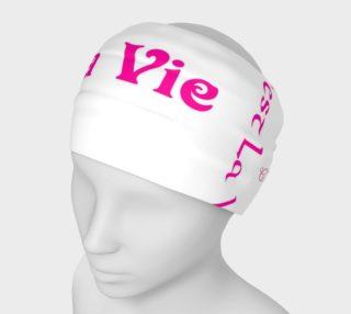 Fuchsia C'est la Vie Headband preview
