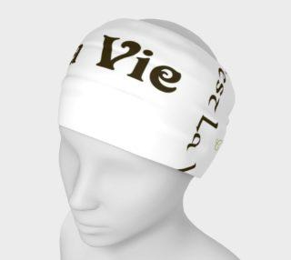 Mocha C'est la Vie Headband preview