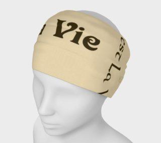 Aperçu de Coffee C'est la Vie Headband