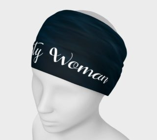 Aperçu de Nasty Woman Headband Blue
