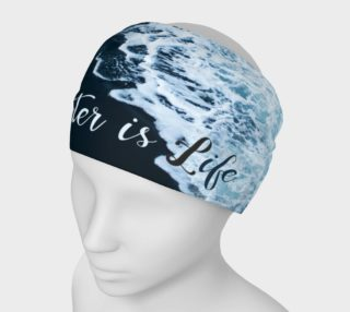 Aperçu de Water is Life Headband Script