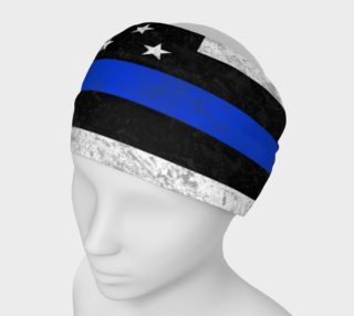 Thin Blue Line Flag Headband preview