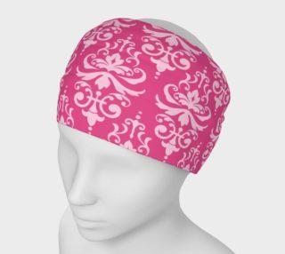 Aperçu de Bright Pink Damask