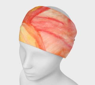 Giant Orange Poppy Headband preview