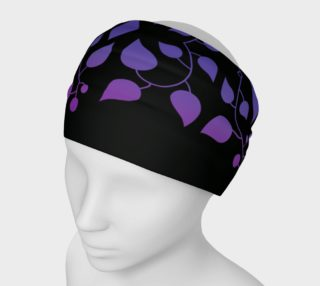 Aperçu de Wild Vine - Midnight Amethyst Headband