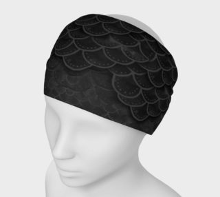 Mermaid Scale Headband Black preview