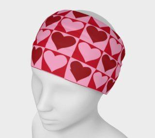 Aperçu de Pink and Red Valentine Hearts