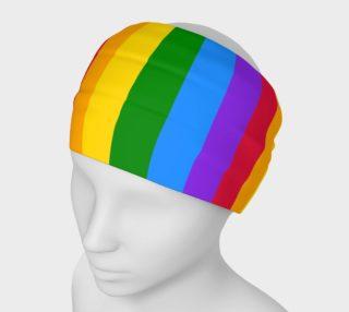 Aperçu de Rainbow Gay Pride Headband