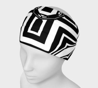 Funky Tribe Black+White Pattern V3 preview
