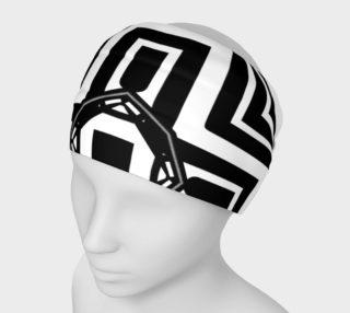 Funky Tribe Black+White Pattern V4 preview