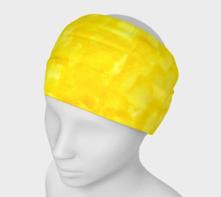 Sunshine Yellow Headband preview