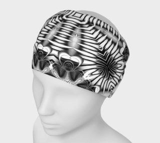 Black+White Tribal Weave Pattern V1 preview