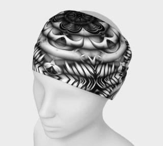 Black+White Tribal Weave Pattern V4 preview