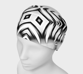 Black+White Tribal Weave Pattern V5 preview