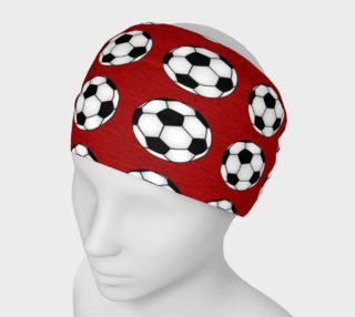 Soccer Balls - Red preview